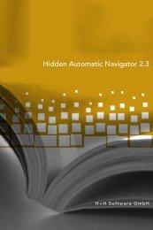 Hidden Automatic Navigator 2.3 - H+H Software GmbH