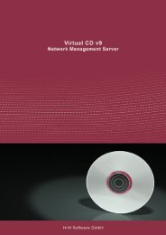 Virtual CD v9 Network Management Server - H+H Software GmbH