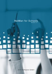 NetMan for Schools 3.7 - H+H Software GmbH