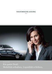 herunterladen - Volkswagen Leasing