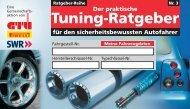 Der praktische Tuning-Ratgeber - Kfz Autowerkstatt