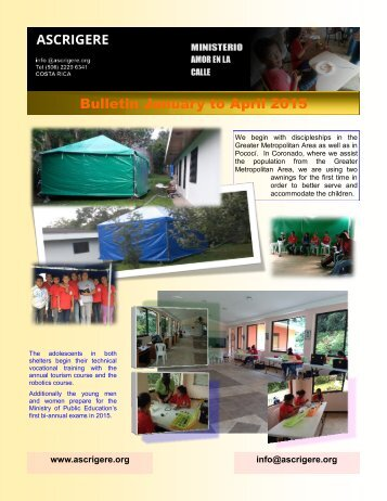 Bulletin January to April 2015