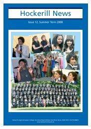 Hockerill News - Hockerill Anglo-European College