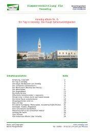 Zimmervermittlung für Venedig - Freie Zimmer in Venedig