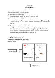 Chapter 03 Strategic Planning Corporate Headquarter Strategic ...