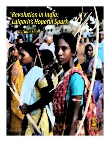 Revolution in India: Lalgarh's Hopeful Spark - Reading from the Left
