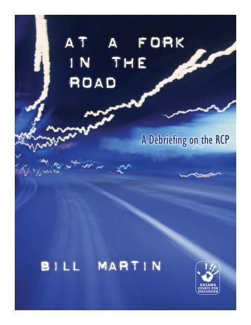 At A Fork In The Road - Reading from the Left