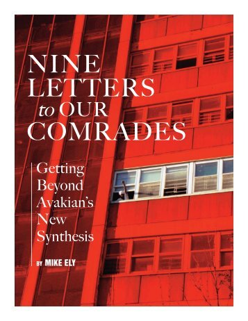 Nine Letters to Our Comrades - Reading from the Left