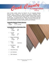 Composite Railing - Cook County Lumber