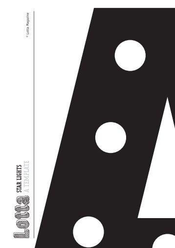 A TEMPLATE - Lotta Magazine