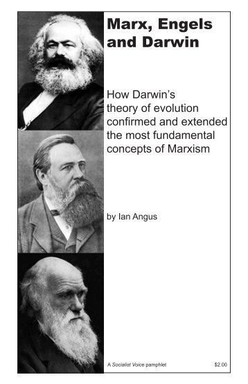 Marx, Engels and Darwin - Reading from the Left