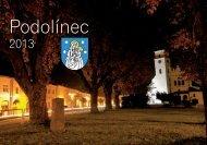 Podolínsky kalendár na rok 2013 - Mesto Podolínec