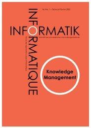 INFORMATIK - INFORMATIQUE - Internationales Institut für  Sozio ...