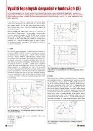 Využití tepelných čerpadel v budovách (5) - iDB Journal