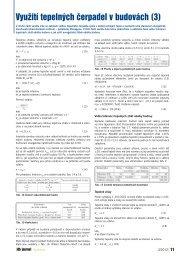 Využití tepelných čerpadel v budovách (3) - iDB Journal