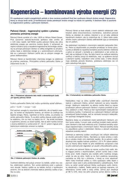 Kogenerácia – kombinovaná výroba energií (2) - iDB Journal