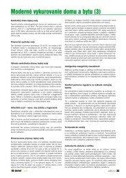 Moderné vykurovanie domu a bytu (3) - iDB Journal