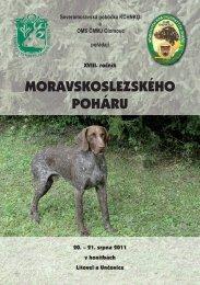 MORAVSKOSLEZSKÉHO POHÁRU - Klub chovatelů NKO