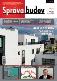 Správa budov 3/2011 - LB výťahy