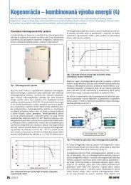 Kogenerácia – kombinovaná výroba energií (4) - iDB Journal