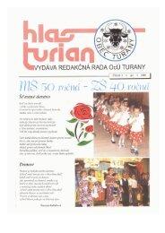 'fi/lg 50 ročná - 40 ročná - Turany