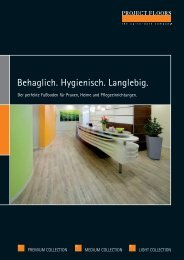 PF Healthcarebroschüre ly03.indd - PROJECT FLOORS GmbH