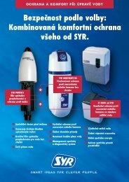 Kombinovaná komfortní ochrana všeho od SYR. - abcplyn.sk