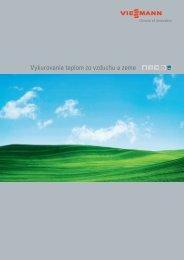 Vykurovanie teplom zo vzduchu a zeme - Viessmann