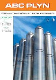 Izolovaný nerezový systém Dinak DW - abcplyn.sk