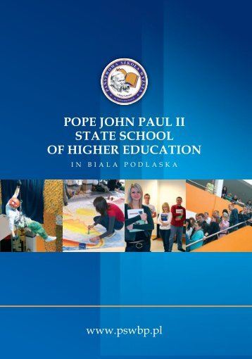 pope john paul ii state school of higher education