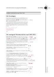 Korrekturzeichen nach DIN 16511