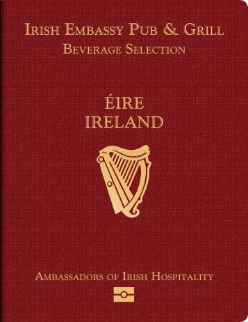 ÉIRE IRELAND - Irish Embassy Hospitality Group