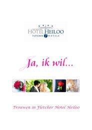 Trouwen in Fletcher Hotel Heiloo - Fletcher Hotels