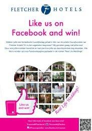 12-00825 Trouwen-Flyer-Facebook Actie-A5.indd - Fletcher Hotels
