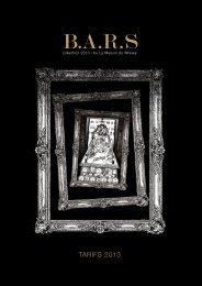 B.A .R .S - La Maison du Whisky