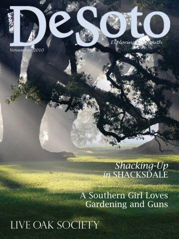 DeSoto Magazine – Southern Girl Afield - Ann Yungmeyer