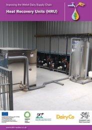 Heat Recovery Units (HRU) - Dairy Development Centre