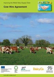 Cow Hire Agreement - Dairy Development Centre