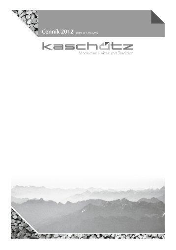 CENNÍK Kaschutz2012.pdf - dm studio sro