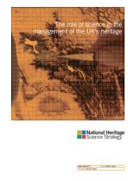 NHSS REPORT v1 - Science and Heritage Programme