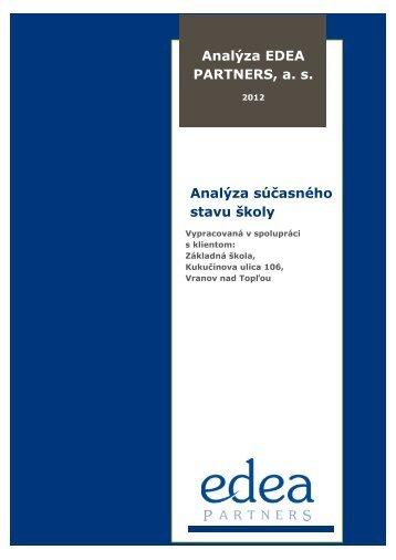 Analýza potrieb a prostredia školy - kukucinka.eu