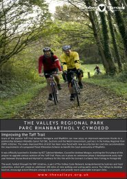Valleys Regional Park Newsletter Jan 2012 - Rhondda Cynon Taf