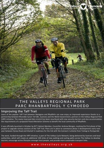 Valleys Regional Park Newsletter Jan 2012 - Rhondda Cynon Taf