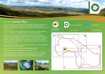 Aberdare Circular Walk - Maps