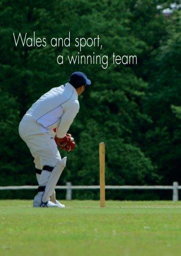 16 Sport & the Economy - World Class Wales
