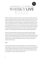 Download the Whisky Live Singapore 2013 Press release