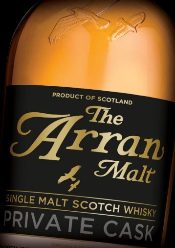 Arran Private Cask SellSheet 160513.pdf - Isle of Arran