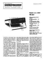 PM 2527 - Helmut Singer Elektronik