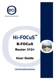 B-FOCuS MultiPort 342+ ADSL Router - Gotlands Energi