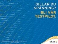 Folder Smart Kund Gotland jan. 2013 - GEAB